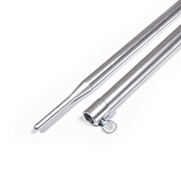 "Thumbnail Image for Mooring Pole Aluminum with Thumb Screw and Swedged Tip #730    40"" to 70"""