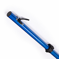 "Thumbnail Image for Shade Pole Marine Carbiepole Carbon Fiber Blue 68"" to 88"" with Bag (1 Each is 1 Pair)"