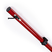 "Thumbnail Image for Shade Pole Marine Carbiepole Carbon Fiber Red 68"" to 88"" with Bag (1 Each is 1 Pair)"