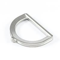 "Thumbnail Image for SolaMesh Cable Dee Ring Stainless Steel Type 316 6mm x 50mm (1/4"" x 2"")"