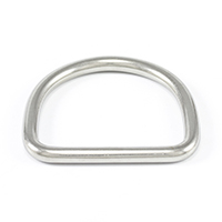 "Thumbnail Image for SolaMesh Dee Ring Stainless Steel Type 316 6mm x 50mm (1/4"" x 2"")"