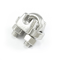 "Thumbnail Image for SolaMesh Rope Clamp Stainless Steel Type 316 6mm (1/4"")"