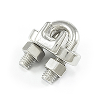"Thumbnail Image for SolaMesh Rope Clamp Stainless Steel Type 316 8mm (5/16"")"