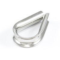 "Thumbnail Image for SolaMesh Thimble Stainless Steel Type 316 10mm (3/8"")"