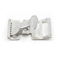 Push-Button Buckle #6105 Cadmium Plated 1'