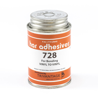 Thumbnail Image for HAR Vinyl To Vinyl Adhesive 728 4-oz Brushtop Can from Trivantage