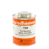 Thumbnail Image for HAR Vinyl To Vinyl Adhesive 728 1-pt Brushtop Can from Trivantage
