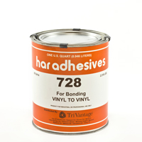 Thumbnail Image for HAR Vinyl To Vinyl Adhesive 728 1-qt Can