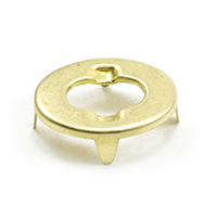 Thumbnail Image for DOT Common Sense Eyelet 91-BS-78403-2E Gilt Brass 1000-pk