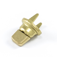 Thumbnail Image for DOT Common Sense Turn Button Double Prong 91-XB-78332-2E Gilt Brass 1000-pk (ED) (CLEARANCE) from Trivantage