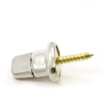 "Thumbnail Image for DOT Common Sense Turn Button Screw Stud 91-XB-783247-1A 5/8"" Nickel Plated Brass 100-pk"