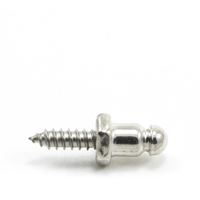 "Thumbnail Image for DOT Lift-The-Dot Screw Stud 90-X8-163606-1A 1/2"" Nickel Plated Brass / Stainless Steel Screw 100-pk"