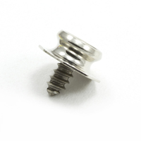 Thumbnail Image for DOT Pull-The-Dot Stud 92-X8-183074-1A Nickel Plated Brass / Stainless Steel Screw 100-pk
