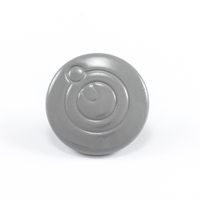 Thumbnail Image for Q-Snap Q-Cap Stainless Steel Type 316 Normal Shaft 4mm Grey 100-pk