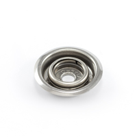 Thumbnail Image for Q-Snap Q-Socket Integrated Socket and Ring Stainless Steel Type 316 100-pk