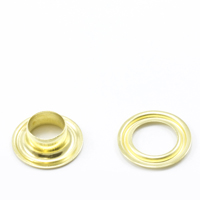 Self-Piercing Grommet with Plain Washer #1 Brass 5/16' 500-pk $42.51