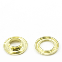 "Thumbnail Image for Self-Piercing Grommet with Plain Washer #3 Brass 7/16"" 500-pk  (EDC) (CLEARANCE)"