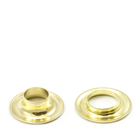 Grommet with #2J Neck Washer Brass 25-gr