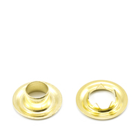 Thumbnail Image for Grommet with Tooth Washer #0 Brass 1/4