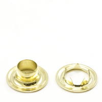 Thumbnail Image for Grommet with Tooth Washer #4 Brass 1/2