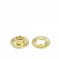 Grommet with Tooth Washer #1 Brass 9/32' 25-gr $141.76