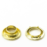 Rolled Rim Grommet with Spur Washer #1 Brass 13/32' 25-gr $433.76