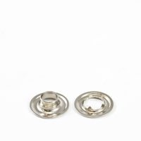 "Thumbnail Image for Grommet with Tooth Washer #1 Brass Nickel Plated 9/32"" 1-gr (ED) (ALT)"
