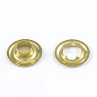 "Thumbnail Image for DOT Grommet with Tooth Washer #1 Brass 9/32"" 25-gr"