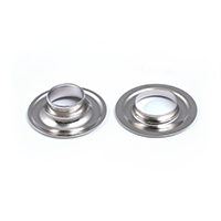 Thumbnail Image for DOT Grommet with A3630 Washer #2 Nickel Plated Brass 25-gr