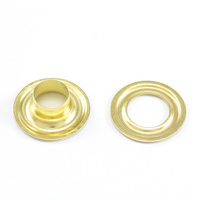 Thumbnail Image for DOT Grommet with Plain Washer #3 Brass 7/16