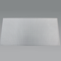 "Thumbnail Image for Fluorescent Eggcrate Louvers #10 Acrylic 1/2"" x 1/2"" x 1/2"" Cell White 10-pk"