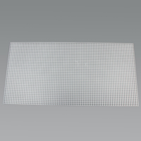 "Thumbnail Image for Fluorescent Eggcrate Louvers #14 Acrylic 1/2"" x 1/2"" x 3/8"" Cell White 15-pk"