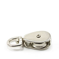 "Thumbnail Image for Swivel Eye Single Sheave Pulley #3 1/4"" Rope"