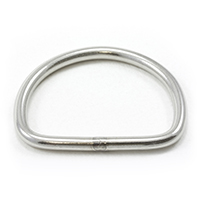 Dee Ring Welded Stainless Steel Type 304 1-1/2""