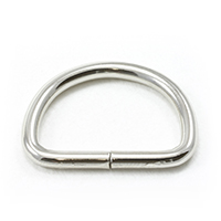 Thumbnail Image for Dee Ring Non-Welded #563 Nickel Plated Steel 1""