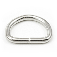 Thumbnail Image for Dee Ring Non-Welded #563 Nickel Plated Steel 3/4""