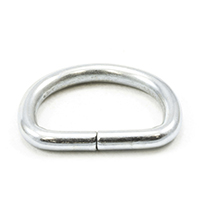 Thumbnail Image for Dee Ring Non-Welded #563 Zinc Plated Steel 3/4""