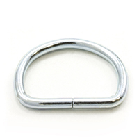 Thumbnail Image for Dee Ring Non-Welded #563 Zinc Plated Steel 1""