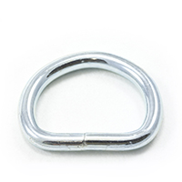 Thumbnail Image for Dee Ring Welded #3250 Zinc Plated Steel 1-1/8""