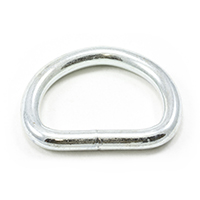 "Thumbnail Image for Dee Ring Welded #3250 Zinc Plated Steel 1-1/4"" ID"