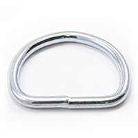 Thumbnail Image for Dee Ring Welded #3250 Zinc Plated Steel 1-3/4""