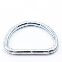 Thumbnail Image for Dee Ring Welded #3250 Zinc Plated Steel 2""