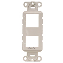 Thumbnail Image for Somfy DecoFlex 3-Channel Face Plate #61114033 White from Trivantage