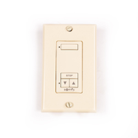 Thumbnail Image for Somfy DecoFlex 1-Channel WireFree RTS #1810898 Ivory from Trivantage