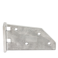 Thumbnail Image for Solair Comfort Beam Bracket Mill Finish from Trivantage