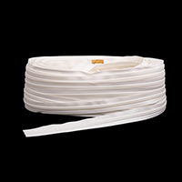 YKK Ziplon Chain #10CF 3/4' Tape White 109-yd, Full Rolls Only $2.11
