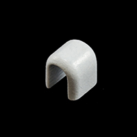 Vislon Zipper Top Stop #10 VF White $0.03