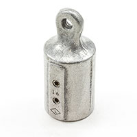 "Thumbnail Image for Eye End Slip-Fit #291A-315 Aluminum 1"" Pipe"