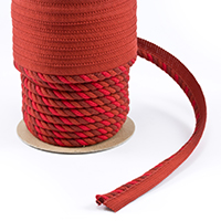 "Thumbnail Image for Sunbrella Twist Cord-Edge #08348-CE 3/8"" x 25-yd Flame"