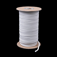 "Thumbnail Image for Polypropylene Covered Elastic Cord 3/16"" x 100' White"